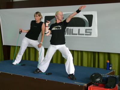 Les Mills Special August 2008: Beate Meyer+ Michaela Overhaus