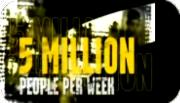 5 Million People A Week